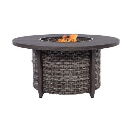 Fire Pit Round Hickory