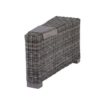 Wedge Armrest Section w/Aluminum Tray
