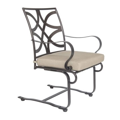 Marquette Spring Base Dining Arm Chair