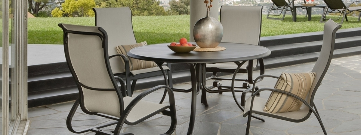 Primera Sling Dining Set Houston Home And Patio