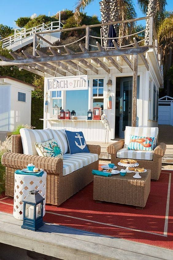 beachy patio