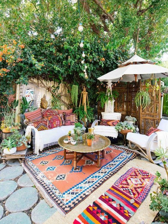 boho patio furniture houston