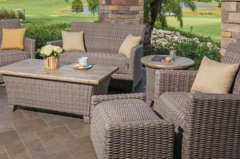 Windward Oxford Woven - Outdoor Seating