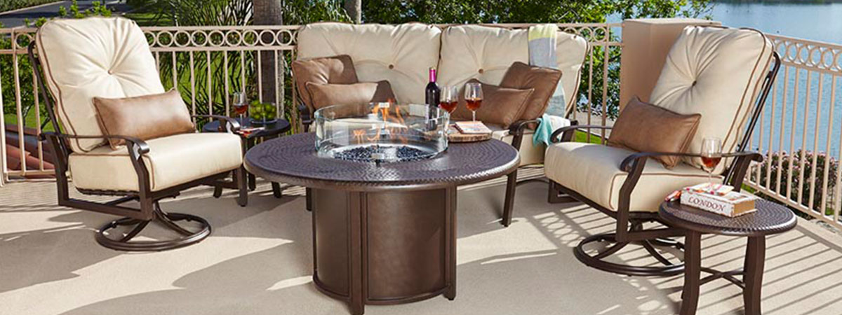 Woodard Cortland Patio Furniture.Cortland Outdoor Seating Houston Home And Patio